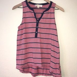 Michael Kors high-lo tank top, size M